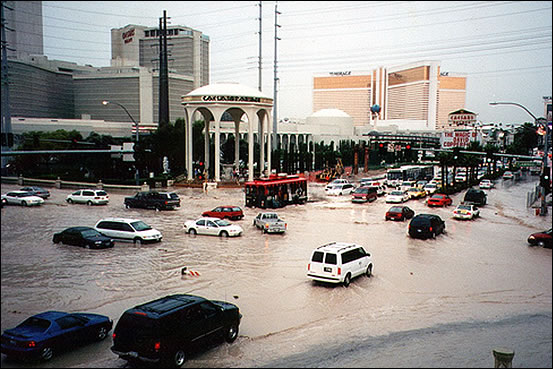 Flood in Las Vegas